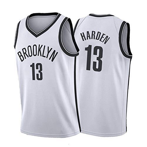 Harden # 13 Nets, camiseta de baloncesto para hombre, cómoda camiseta deportiva para entrenamiento y fitness al aire libre, talla S