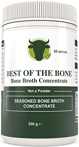 BONE BROTH Premium Beef Bone Broth Concentrate - 100% Sourced From AU Grass-Fed, Pasture-Raised Cattle - Healthier Skin & Nails, Healthy Digestion