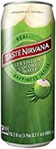 Taste Nirvana Real Coconut Water, Premium Coconut Water, 16.2 Ounce Cans (Pack of 12)