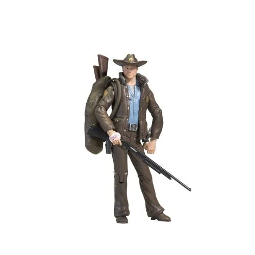 Mcfarlane Toys Walking Dead Comic Series Rick Grimes Action Figure