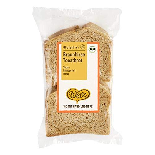 Werz - Braunhirse-Toastbrot glutenfrei - 250 g - 4er Pack
