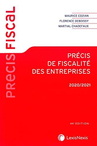 Précis de fiscalité des entreprises 2020/2021