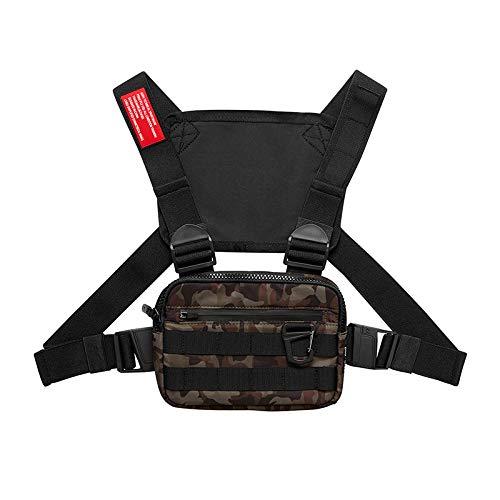 XGOTEC Grenzüberschreitende Outdoor-trainingsgeräte, Multifunktionaler Taktischer Tarnrucksack, Wasserdichter Und Tragbarer Brusttaschen-direktverkauf Ab Werk Tarnung