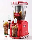 Nostalgia SM32CK Coca-Cola 32 oz Retro Slush Bebida, Rojo