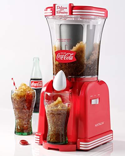 Nostalgia SM32CK Coca-Cola 32-Ounce Retro Slush Drink Maker, Red