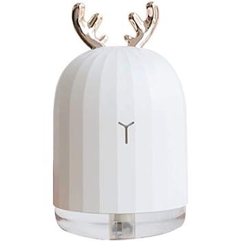 Blusea Essential Oil Diffuser, Deer Mini Air Humidifier Essential Oil Diffuser Aromatherapy Household Ultrasonic Humidifier Usb Diffusers Pink Rabbit