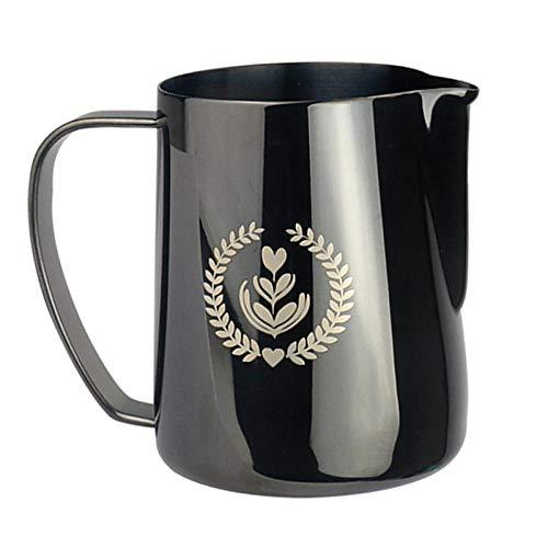 Jarras de agua grande jugo de té helado jarra medida jarra jugo bebida jarra jarra vino jarra té leche café bebidas calientes y frías 600 ml, acero inoxidable 304-4