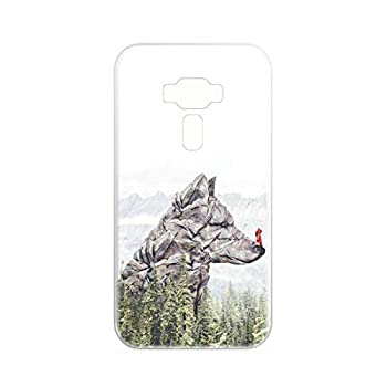 Case for Asus Zenfone 3 Deluxe ZS550KL ZS550ML Case TPU Soft Cover Case V-43