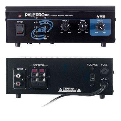New-Mini 2x75W Stereo Power Amp - PCA3