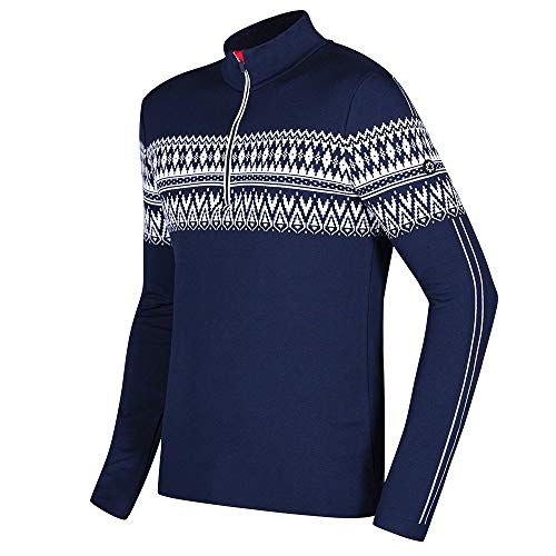 Newland Canazei 1/2-Zip Sweater Mens Navy/White