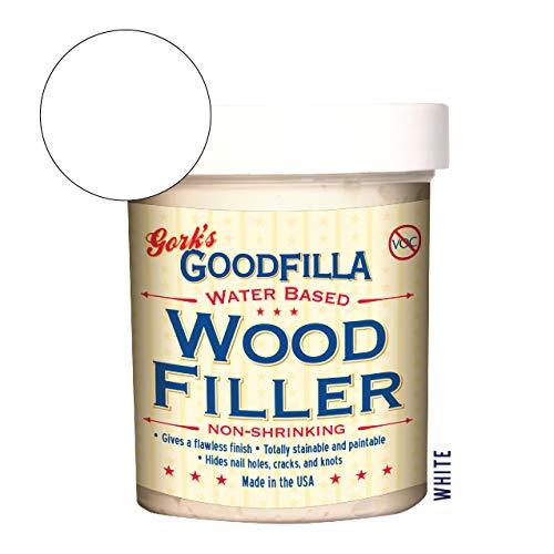 Water-Based Wood & Grain Filler - White - 8 oz by...