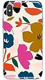 LA COQUERIE - Custodia protettiva per telefono cellulare con motivo floreale, realizzata in Francia