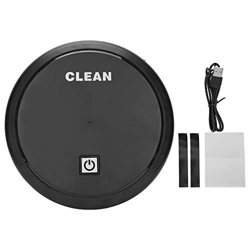 Zerodis Smart Sweeper Aspiradora 2 en 1, barredora con carga USB del electrodoméstico, aspiración y barredora 2 en 1, Lazy Smart