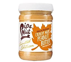AMAZING crunchy peanut butter with a drizzle of Canadian Maple Syrup Delicious crunchy texture, perfect for spreading No refined sugar or palm oil Good source of protein and vitamin E It has a beautiful, fresh flavour that is bursting with nutty good...
