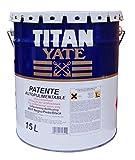 Patente Autopulimentable 15 L Titan - 4404 Azul Intenso