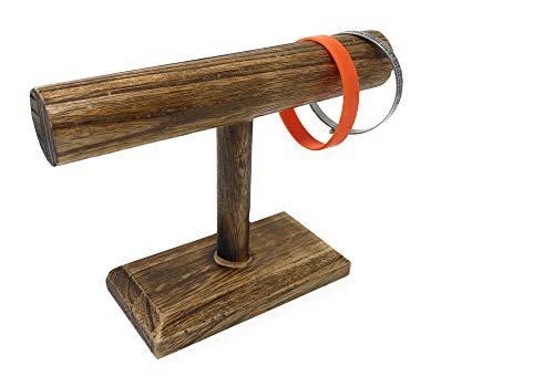 Vetrineinrete Porta bracciali in Legno espositore Display per Braccialetti Orologi Gioielli Stand portagioie per Negozi vetrine G78