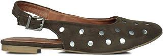 Erkan Kaban 231005 677 Kadın Yeşil Süet Sandalet 34