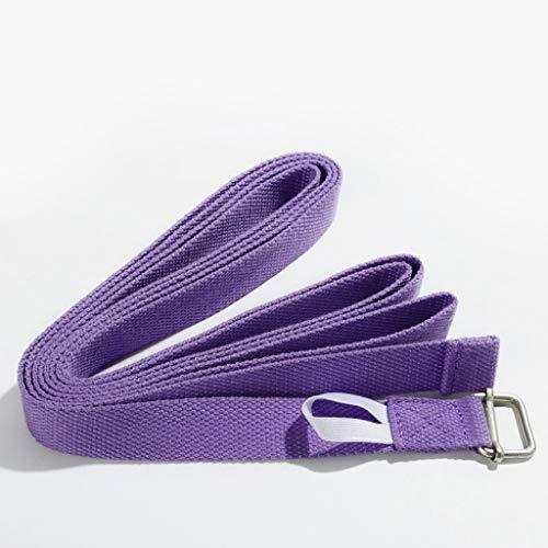 CQ Trekken Hulpmiddelen Anti-bultruggen Yoga Riem te handhaven Gezonde Vetersluiting Yoga Touw Gezondheid Beweging