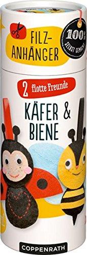Näh-Set: 2 Flotte Freunde: Käfer & Biene