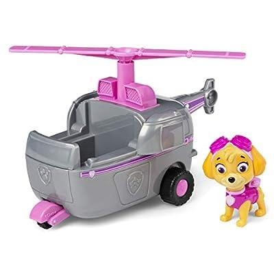 PAW PATROL Vehículo de helicóptero 6054971 Skye's con Figura Coleccionable, para niños de 3 años y más, Multicolor por Spin Master