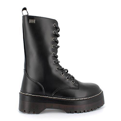Coolway, ABRIE, Botas Negras para Mujer, 36