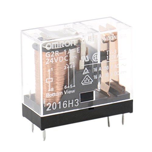 Heschen Relé electromagnético G2R-1A-E 24VDC SPST-NO 16A / 250VAC Montaje PCB 6 pin