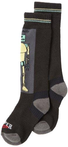 Hot Chillys Boy 's Bots Medium Kissen Socke, Jungen, Bots-Charcoal