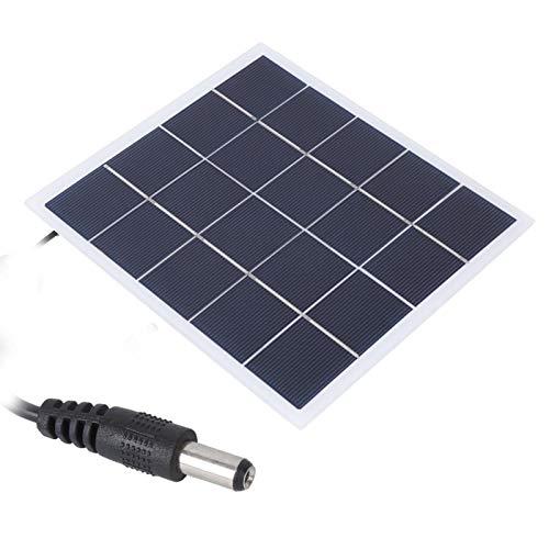 FOLOSAFENAR Panel de Cargador de energía Solar Panel de Cargador Solar de energía portátil 4W 5V para Todos los electrodomésticos pequeños