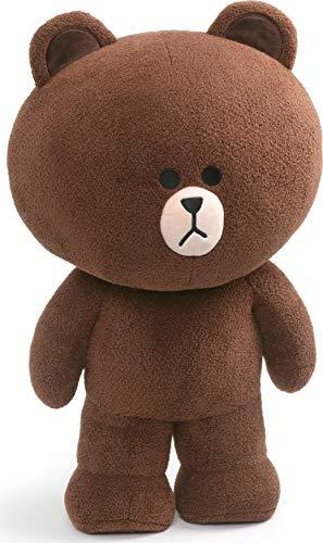 "GUND LINE Friends Jumbo Brown Standing Plush Stuffed Animal Bear, Brown, 23"""