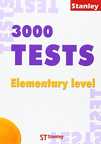 3000 Tests Elementary + Key (pack) (Ingles)