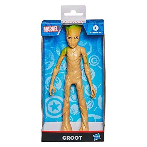 Boneco Marvel Olympus Groot - Figura de 24 cm, para crianças acima de 4 anos - F0778 - Hasbro