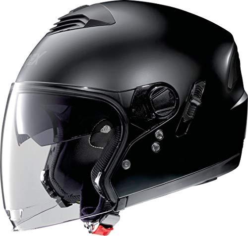 GREX G4.1 E Casco Jet Kinetic, Flat Black, L