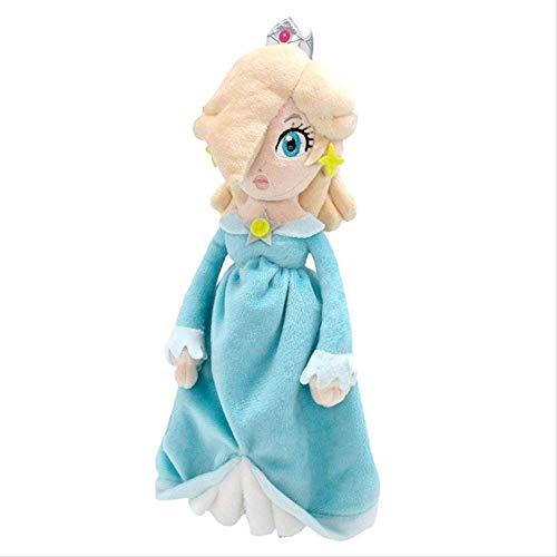 Yzhome Nettes Mädchen Plüschtier Sane Super Mario All Star Kollektion Rosalina Gefüllte Plüsch Cartoon Plüschtier Kinder Geschenk Spielzeug 20Cm