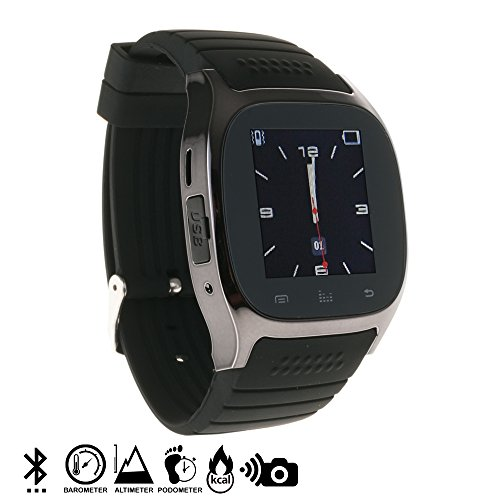 Silica DMN232 - Smartwatch timesaphire BT Black, Color Negro