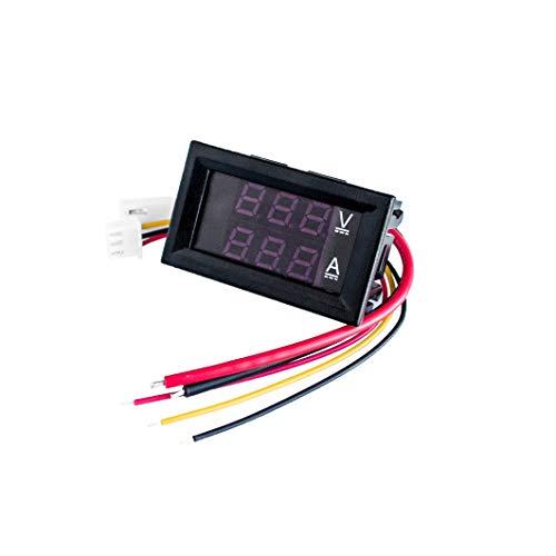Fantastic Deal! YOULITTY Mini Digital Voltmeter Ammeter DC 100V 10A Panel Amp Volt Voltage Current M...