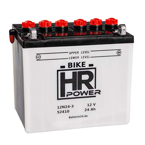 HR Bike Power Rasentraktor 12V 24Ah...