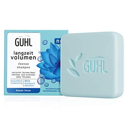 Guhl Festes Shampoo - Langzeit Volumen für feines Haar - Verleiht sichtbar mehr Volumen - 75 g