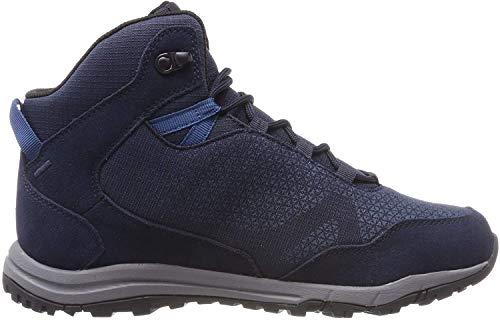 Jack Wolfskin Herren Activate Xt Texapore Mid Trekking- & Wanderstiefel, Blau (Night Blue 1010), 48 EU