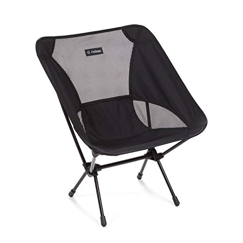 Helinox Chair One Original Lightweight, Compact, Collapsible Camping Chair, All Black