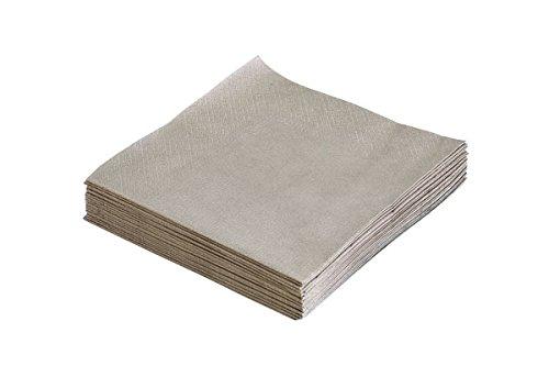 Lind DNA 989857 Papier-Servietten Light Grey 33x33cm (20Stück)