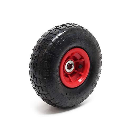 Reifen für Profi Transport Stapelkarre Sackkarre 4.10/3.50-4 Lager Ø 25mm Luftreifen