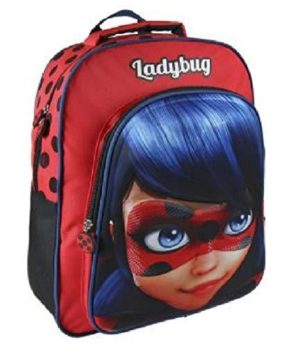mochila ladybug - set de papelería miraculous ladybug
