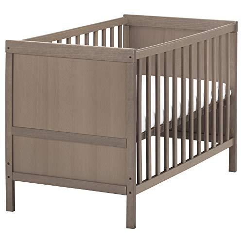 IKEA.. 802.485.73 Sundvik Kinderbett, grau-braun