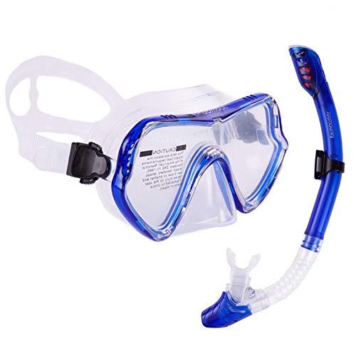 Joomouney Juego de esnórquel con tubo de buceo y gafas y tubo antivaho
