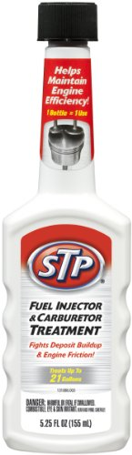 STP 78571 5.25 Ounce Fuel Injector & Carburetor Treatment + Upper Cylinder Lubricant (5.25 fl. oz.)