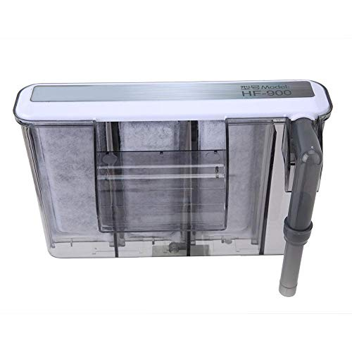 Pssopp Skimmer de Superficie de Acuario, removedor de película de Aceite Purificador de proteína de Agua Skimmer Filtro Sistema de Limpieza de Agua 220-240V Conector CN((HF-900))