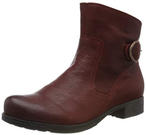 Think! Damen Denk_585015 Biker Boots, Rot (Rosso 70), 39.5 EU