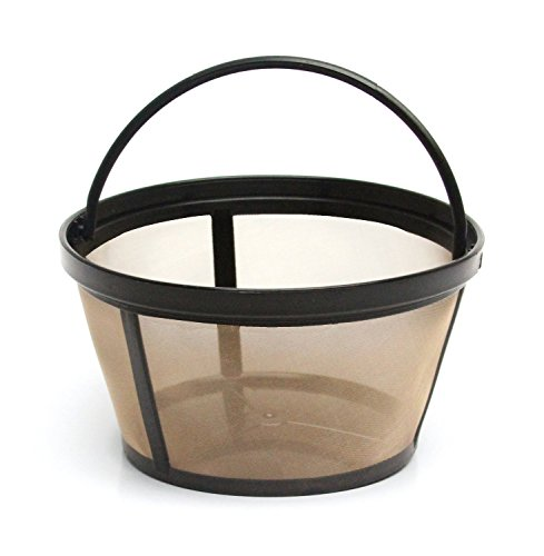 1 X 4-Cup Basket Style Permanent Coffee Filter fits Mr. Coffee 4 Cup Coffeemakers (With Handle)