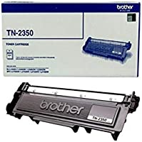 Brother Genuine TN2350 High-Yield Printer Toner Cartridge, Black, Page Yield Up to 2600 Pages, (TN-2350)