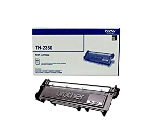 Brother Genuine TN2350 High-Yield Printer Toner Cartridge, Black, Page Yield Up to 2600 Pages, (TN-2350) (B0765MCJDZ)   Amazon price tracker / tracking, Amazon price history charts, Amazon price watches, Amazon price drop alerts